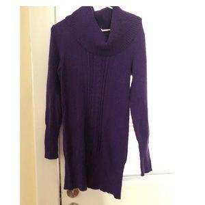 Purple Candies Sweater Dress